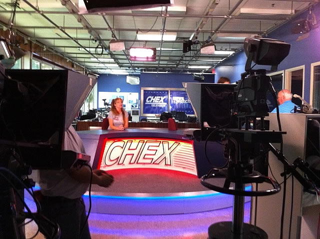 2012 CHEX TV Peterborough 3
