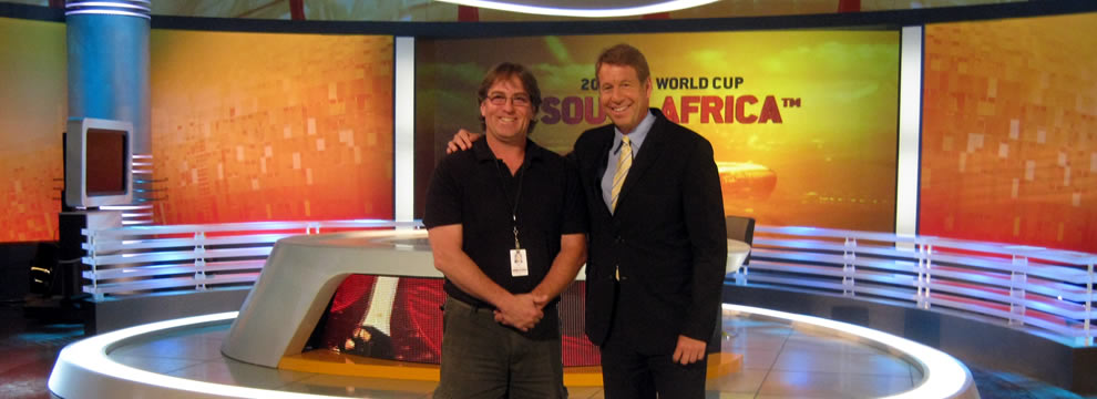 Perry Frigault on FIFA Toronto Set